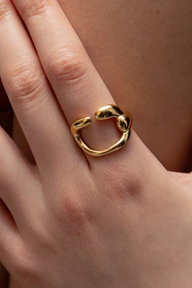 Core Ring, 18K Gold Vermeil